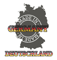 Made in Germany vector image