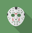 Jason mask vector image vector image