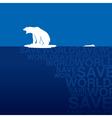 Polar bear 3 vector image