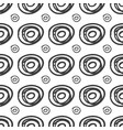 ink rounds sketch seamless pattern vector image