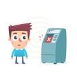 junk ATM vector image