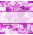 Abstract seamless purple frame vector image