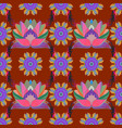 simple cute pattern in small-scale flowers vector image