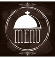 Menu and restaurant icons design vector image