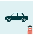 Car icon isolated vector image