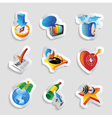 Icons for leisure vector image vector image