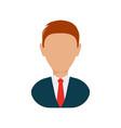 executive man vector image