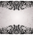 Luxury background with vintage frame vector image vector image