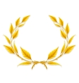 Laurel Wreath Design Element vector image vector image
