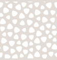 geometric seamless pattern with round triangles vector image