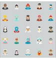 Occupation and Professional icons vector image