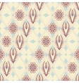 Seamless floral pattern in japanese style vector image vector image
