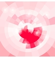 Gentle abstract circular background pink light vector image