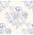Seamless pattern with bouquet of flowers-06 vector image