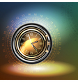 clocks background vector image vector image