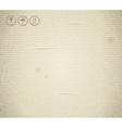 Cardboard texture vintage vector image