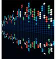 digital lights vector image