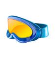 icon goggles vector image vector image