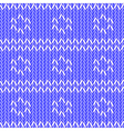 Design seamless colorful knitted pattern vector image