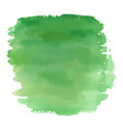 green color watercolor hand drawn gradient banner vector image