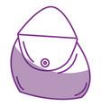 woman handbag isolated icon vector image