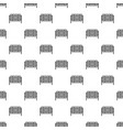 square fence pattern vector image