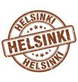 Helsinki stamp vector image