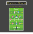 Soccer Story 1 vector image