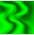 A sample of tissue silk green with pleats vector image