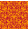 red seamless wallpaper pattern vector image vector image