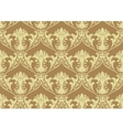 Seamless Damask Wallpaper vector image