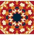 Seamless round frame mandala-like design vector image