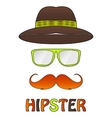different hipster style vector image
