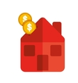 money house icon vector image