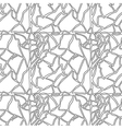Seamless hand drawn pattern with eggshell texture vector image