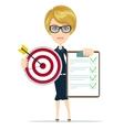 Women in Business vector image