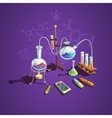 Chemistry science concept vector image