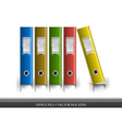 office file isolated vector image vector image