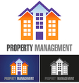 Property Management vector image