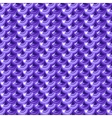 Seamless violet river fish scales vector image