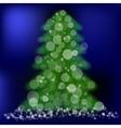 Green Pine vector image