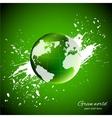 Green world Ecology concept vector image