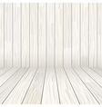 wooden texture empty room background vector image