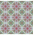 Pattern in Christmas style vector image