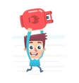 gas cylinder for kitchen vector image