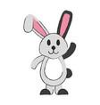 cartoon rabbit or bunny icon image vector image