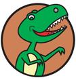 T rex vector image