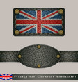 flag of great britain vector image vector image