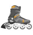 Roller skating vector image