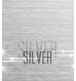 Background silver vector image